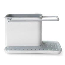 Пластиковые стеллажи Органайзер Caddy хранение кухонная раковина посуда держатели слив интегрированный слив хороший кухонный инструмент