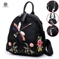 Oxford cloth Backpack Embroidery Ethnic Backpack Women waterproof Travel Bags Schoolbag Girl Backpacks Rucksack