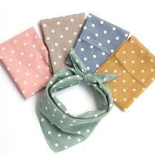 45*45 см, детский хлопковый шарф для маленьких мальчиков и девочек, милый детский шейный платок, детский маленький квадратный шарф, мягкий нагрудник