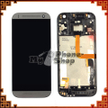 Mobile Phone LCD for HTC One Mini 2 M8 Mini LCD with Touch Screen Assembly + Grey Frame free shipping