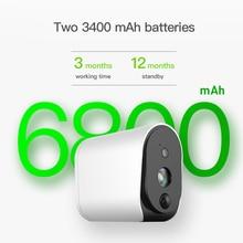 Wire-Free Battery IP Camera 1080P Outdoor Full HD Wireless Weatherproof Indoor Security WiFi IP Cam