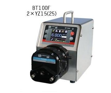 BT100F 2xYT15 Intelligent Dispensing Dosing Filling Peristaltic Pump Industry lab Medical Tubing Pumps Precise 0.006-570 ml/min