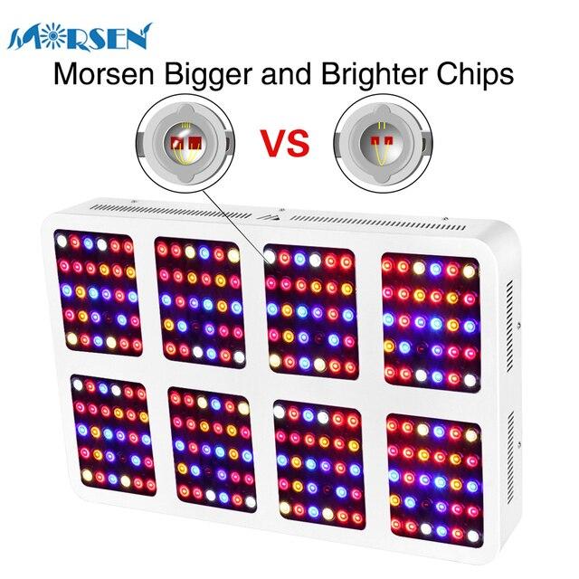 1pcs High Power LED Grow Light 600W 1200W 1800W 2400W Double ...