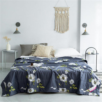100% Cotton Flower Printing Quilt Bedding Bedding Sets