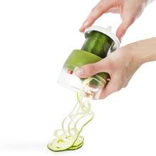 Fullstar Vegetable Spiral Slicer Cutter Spiralizer Grater Carrot Cucumber Courgette Zucchini Spaghetti