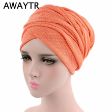 Turban Muslim Head Wrap Scarf