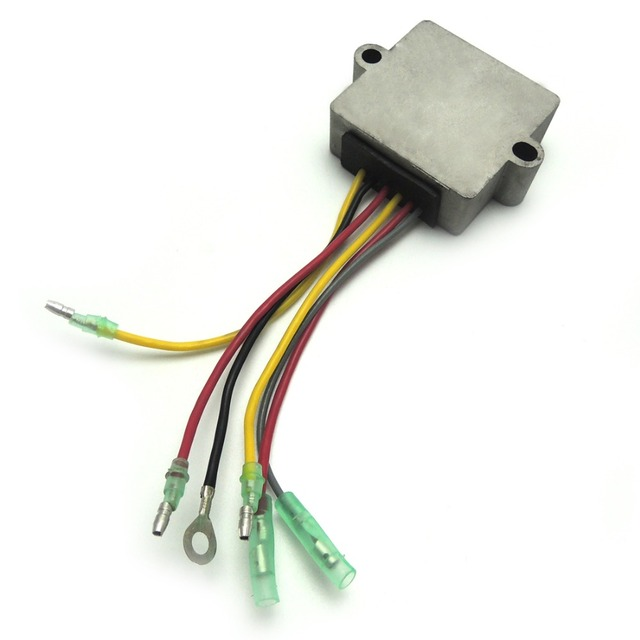 For Mercury outboard Voltage Regulator Rectifier 6 Wires for Mariner Outboard regulador mercurio 883072T Brand NEW