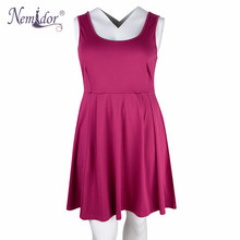 Nemidor Sleeveless A-line Dress