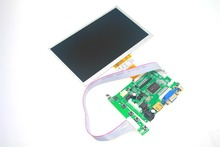 7 inch Raspberry Pi LCD With HDMI VGA AV Screen Display Monitor Module For Pcduino Banana Pi 800×480 with keyboard plate