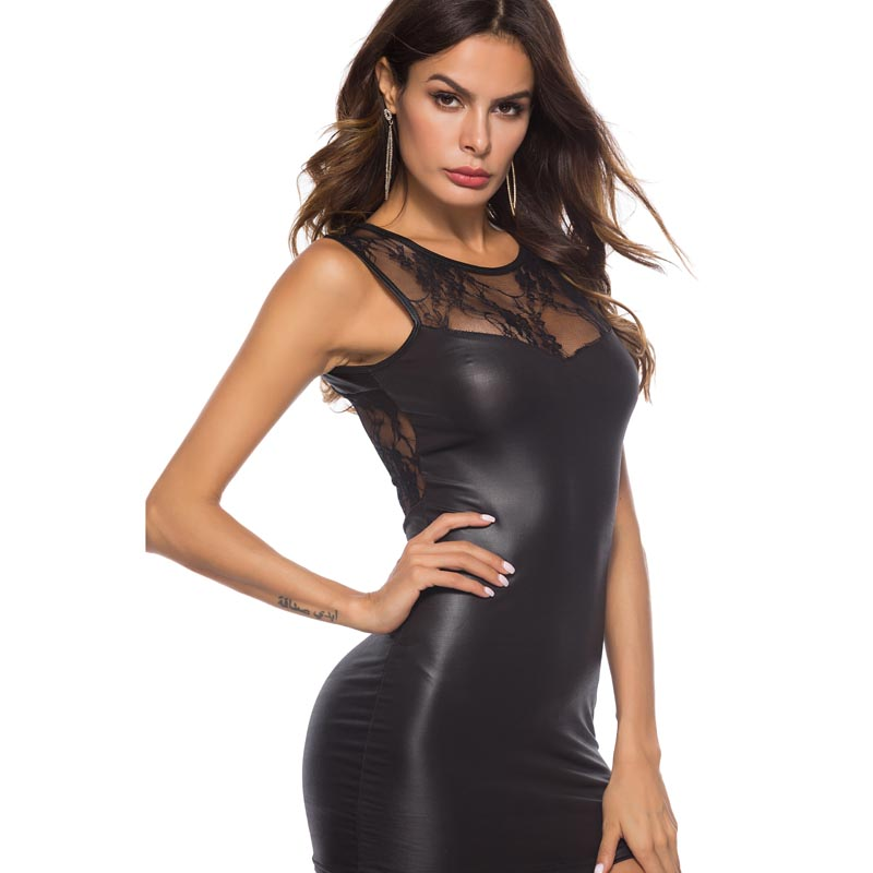 0bf19ef854e Detail Feedback Questions about Sexy Woman Lady Faux Leather Short ...