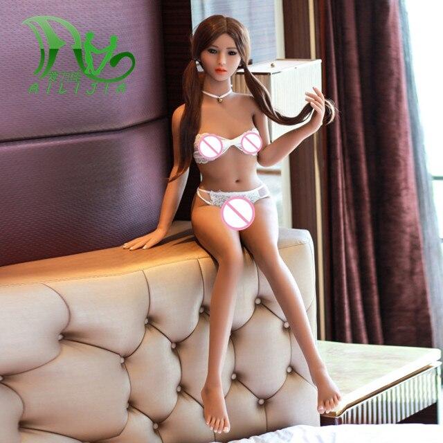 Yannova 140 centimetri TPE con lo scheletro In Metallo bambole del sesso realistico del seno della vagina culo figa bambola di amore orale anale del sesso per adulti giocattoli