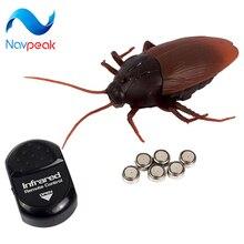 Nova Chegada Controle Remoto Barata Baratas Formigas Aranhas Insetos Halloweenn Xmas Presente Toy Prank Joke Assustador