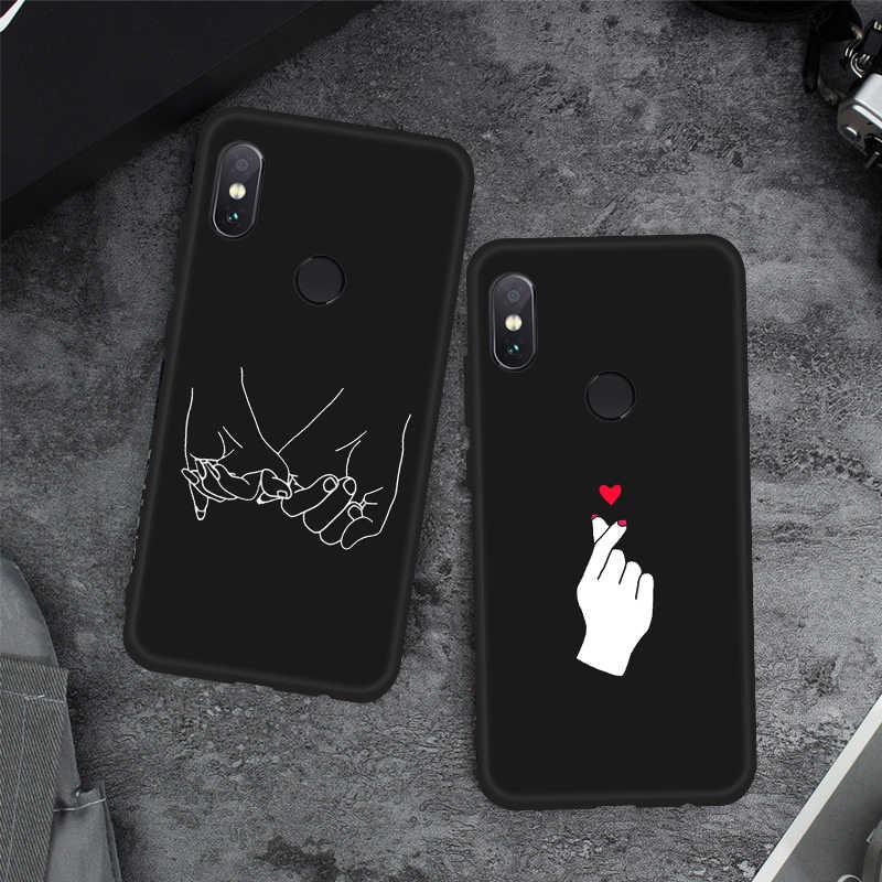 Étui de protection motif pour Xiao mi rouge mi Note 6 Pro 5A 4X S2 mi A2 Lite 6X A1 Max3 mi x3 mi 8 boîtier de téléphone Coque arrière TPU