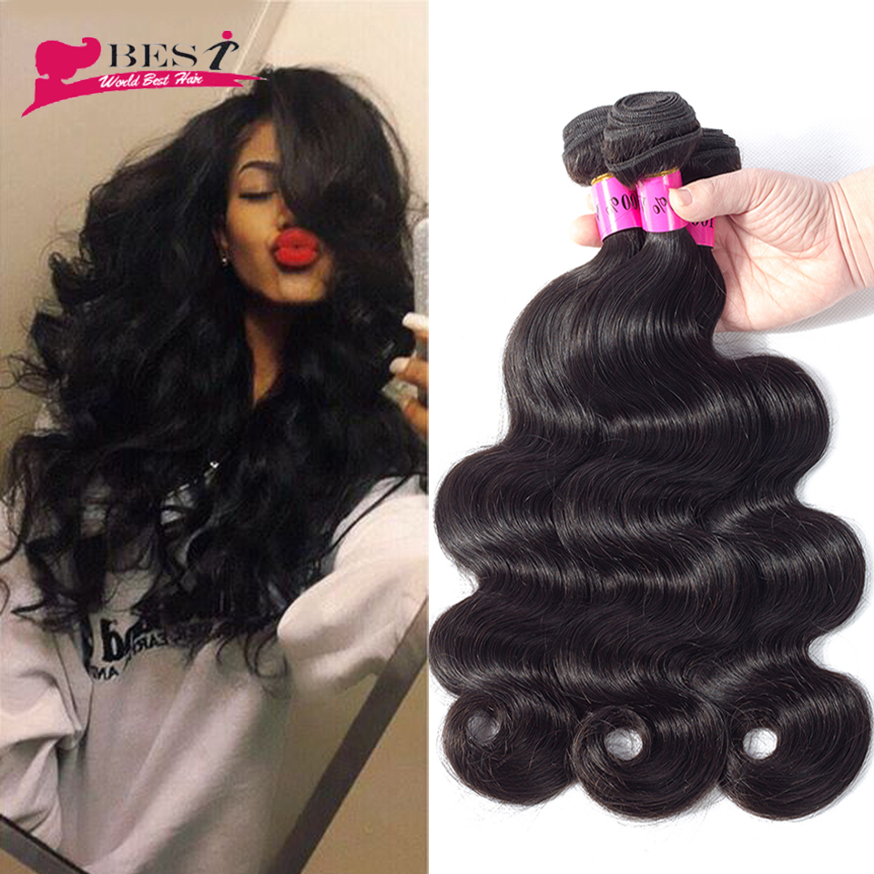 Soft Brazilian Virgin Hair Body Wave 8A Grade Virgin Unprocessed Human Hair Brazilian Body Wave Brazilian Hair Weave Bundles