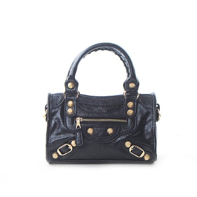 Women Handbags Punk Retro...