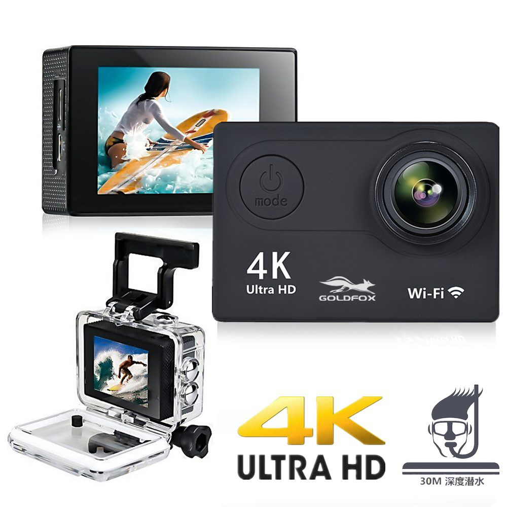 H9R H9 Action Camera Ultra HD 4K WiFi 2.0
