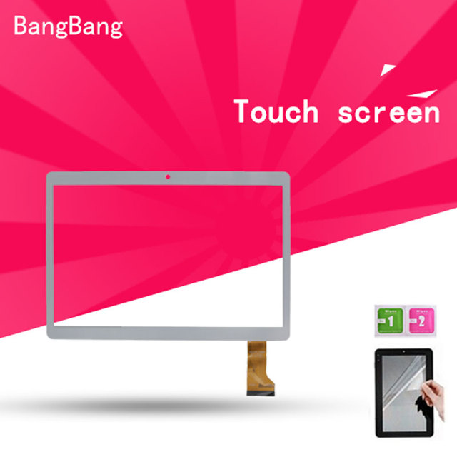 """9.6"""" White Touch Screen panel with Digitizer For XGODY 9.6'' Android 4.4 Tablet LCDs & Panels + Screen Protector Film"""