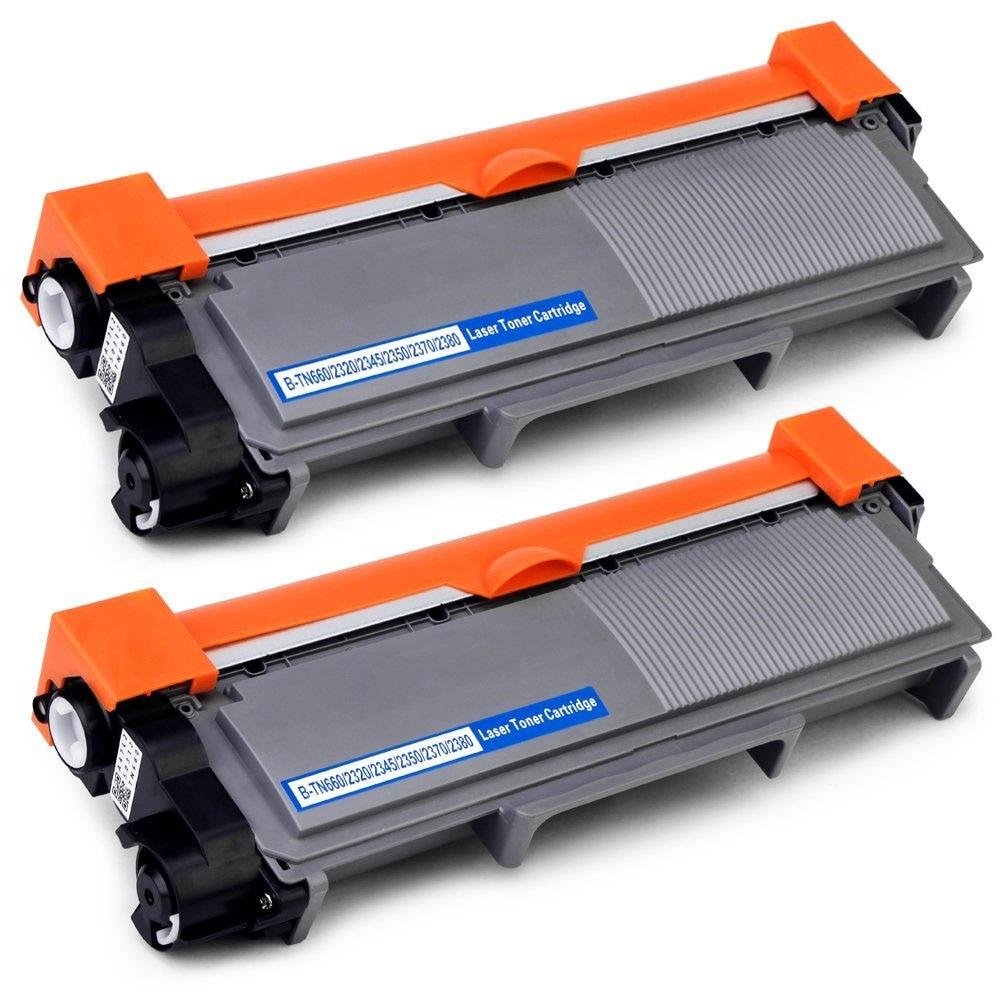 2Pack Toner Cartridge Compatible for Brother HL-L2300D L2365DW TN660 TN630 TN2320 TN2310 TN2375 TN2335 TN2350 TN23302Pack Toner Cartridge Compatible for Brother HL-L2300D L2365DW TN660 TN630 TN2320 TN2310 TN2375 TN2335 TN2350 TN2330