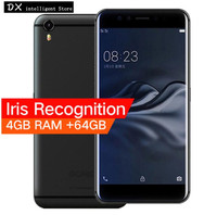 Original GOME K1 4GB 64GB/128GB Unlocked 4G LTE Mobile Phone Helio P20 MTK6757 Octa Core 5.2 FHD Android 6.0 16.0MP Fingerprint