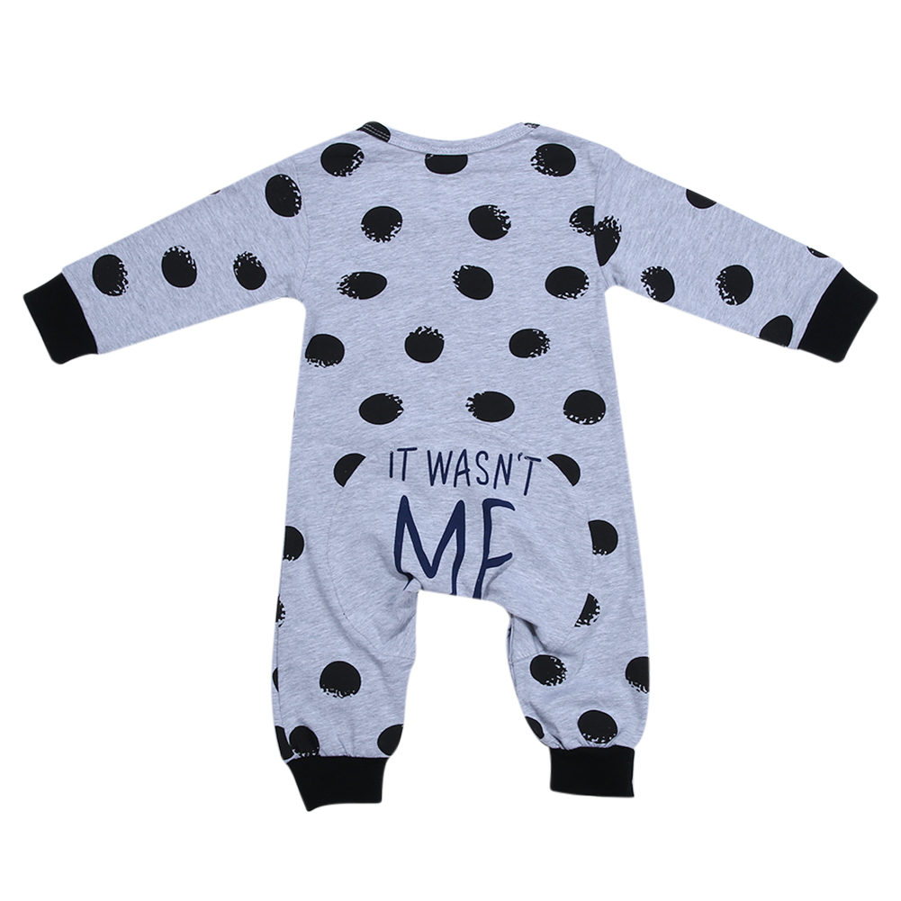 Newborn Infant Rompers Baby Boy Clothes Long Sleeve Black Velvet Ball Romper Jumpsuit Outfit Toddler Boys Clothing 2016 new newborn infant baby boy girl rompers toddler clothing romper jumpsuit black big eye cotton long sleeve clothes outfits