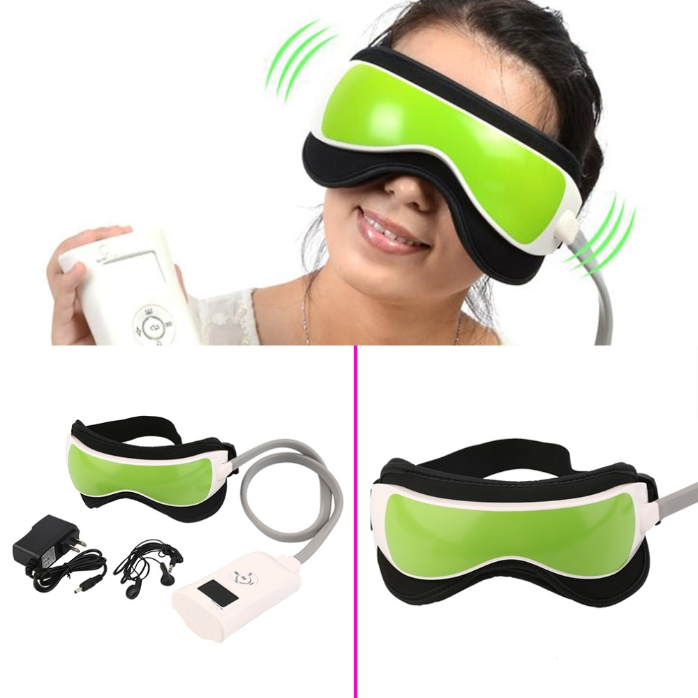 Ojo Máscara Del Cuidado Del Ojo Relax Masajeador Terapia de La Calefacción de Calor infrarrojo de La Frente