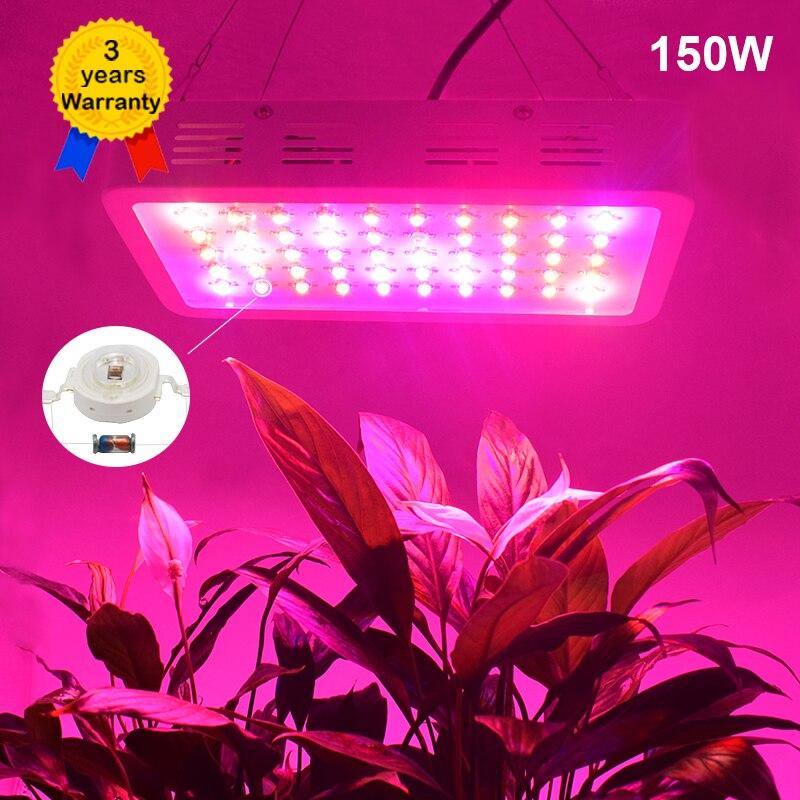 150 W LED Élèvent La Lumière Plein Spectre LED Lampe Lumière Éclairage pour Plantes Fleur intérieure à effet de serre d'éclairage