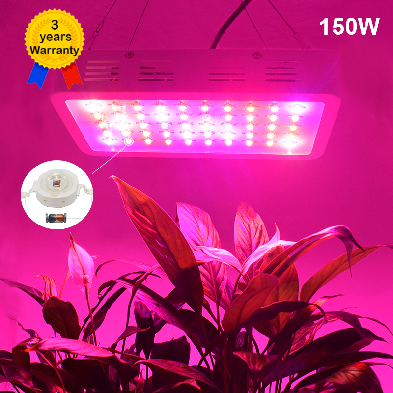 150W LED Grow Light Full Spectrum LED Lamp Light Lighting for Plants Flower indoor greenhouse lighting