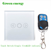 UK Standard Touch Dimmer Switch Dimmer 1 Gang White Glass Dimmer Switch Glass Touch Panel Dimmer