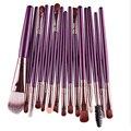 Novo Produto Profissional 15 Pcs Pincel de Maquiagem Cosméticos Mulheres Fundação Eyeshadow Lip Marca Eye MakeUp Brushes Set