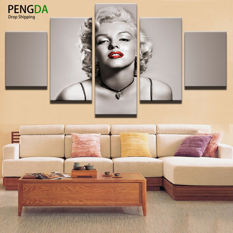 pengda canvas painting home decor for living room canvas