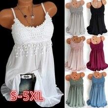 цена ZOGAA Girls Summer Dress Spaghetti Strap Dresses Sexy Women V-neck Sleeveless Beach Backless Lace Patchwork Dress Vestidos