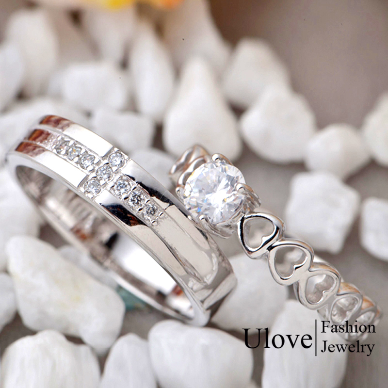 gestone sterling and from in wedding for couple item imitation silver women delicate rings men romantic with gemstoneulove jewelry ulove jewellry jewellery