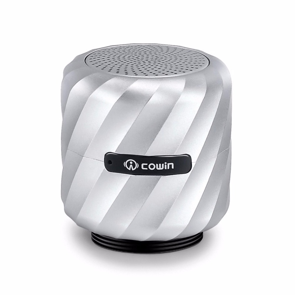 ФОТО meidong Qbeat Mini Bluetooth Vibration Speaker Portable Wireless Subwoofer with MIC for phone Computer and Suction Cup Stander