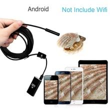 5.5 millimetri HD WiFi Impermeabile Dell'endoscopio di controllo 6 LED Della Macchina Fotografica per Android Fori Far Fronte Del Serpente Macchina Fotografica di Controllo di Portata