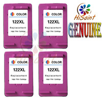 New Arrivals 122 XL Remanufactured Text Quality Tri Color Ink Cartridges For HP Printers Pack Of