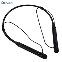 OLLIVAN Neckband Wireless Bluetooth 4 2 Earphones Waterproof Sports Earphone HIFI Stereo Music Headset For Outdoor