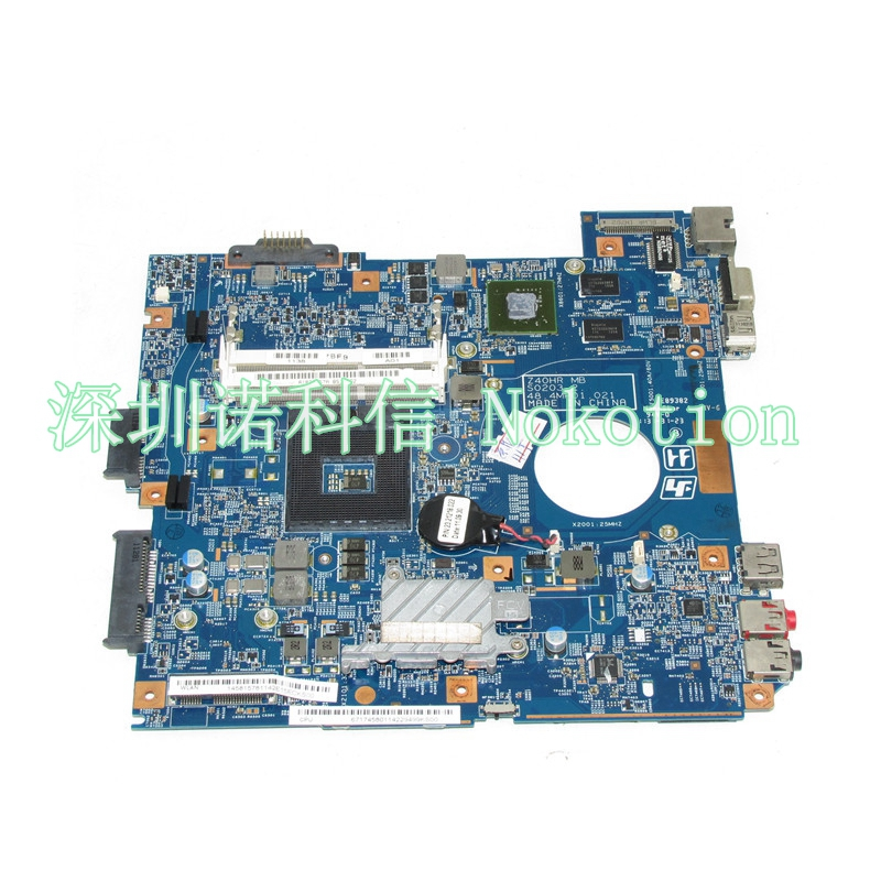 NOKOTION MBX-250 Laptop motherboard For Vaio PCG-61911w VPCEG VPCEG18FG HM65 DDR3 48.4MP01.021 GT410M GPU Mainboard a1765405c for sony vaio vpc f m930 mbx 215 1p 009b500 8012 intel laptop motherboard s989 pm55 geforce gt330m