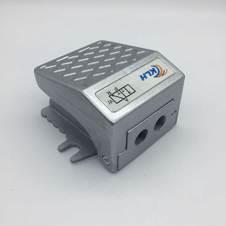 Foot Press Control 1/4 Threaded Air Pneumatic Pedal Valve Foot Switch 2 Way 2 Position FV-02 1 4 2 position 5 way air pneumatic foot pressure control valve st 402a x 1