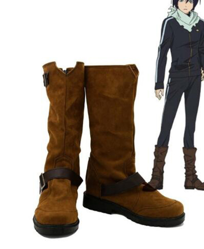 Aragoto Noragami Йато Косплэй ботинки Хэллоуин вечерние Косплэй шоу сапоги индивидуальный заказ для взрослых Мужская обувь аксессуары