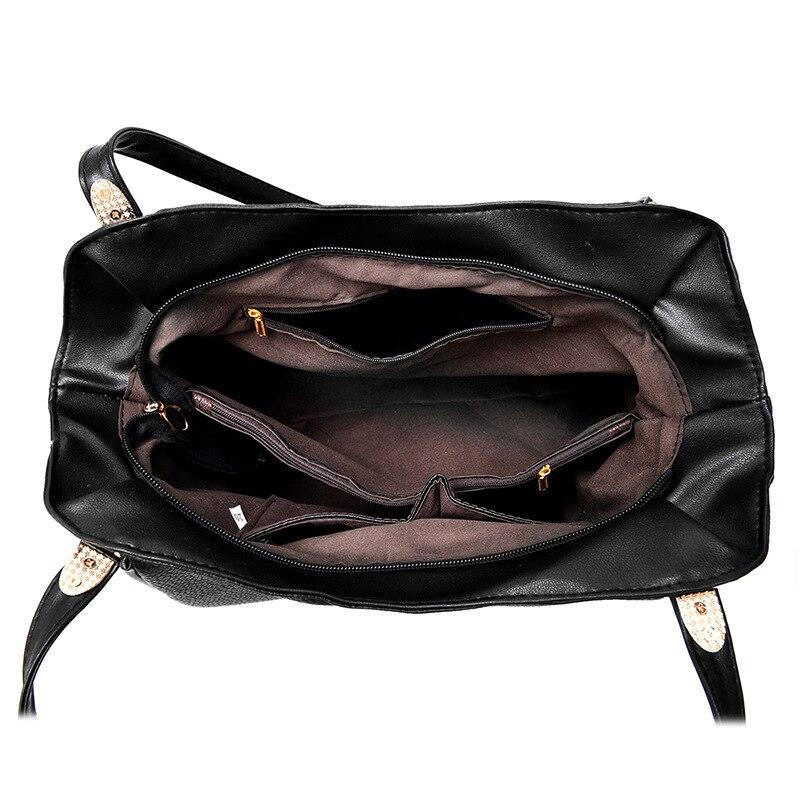 7b4bcda5a64cc 2018 Modedesigner Frauen Handtasche Weibliche PU Handtaschen Ledertaschen  Damen Tragbare Schultertasche Büro Damen Totes Hobos Tasche in 2018  Modedesigner ...