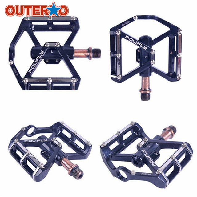 Aluminum Alloy 350g Cycling Pedals Treadle Fixed Gear Mtb Bicycle