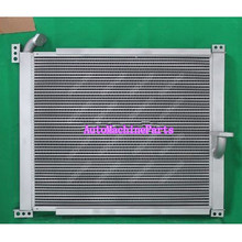 New Aluminum Hydraulic Oil Cooler for Komatsu PC300LC-6 Machine