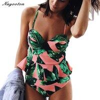 Bikini Set 2017 Push Up New High Waist Bikini Bandeau Swimsuit Brazilian Women Swimwear Beach Sexy