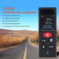 High Accuracy Digital Laser Rangefinder Handheld Distance Meter Measure Rangefinder For Distance Area 40 60 80