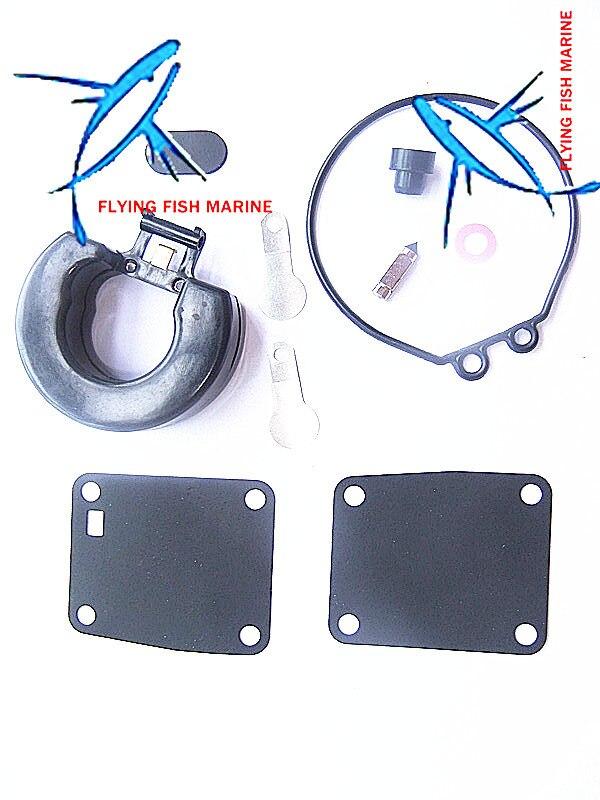 Boat Engine Carburetor Repair Kit for 369-87122-1 369-871221 359087122-1 Tohatsu Nissan 2-Stroke 9.8HP 8HP 5HP 4HP Outboard Moto
