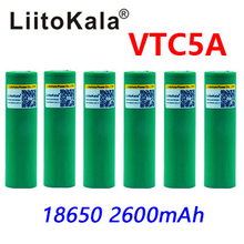liitokala 3.6V 18650 US18650 VTC5A 2600 mAh High Drain 40A Battery