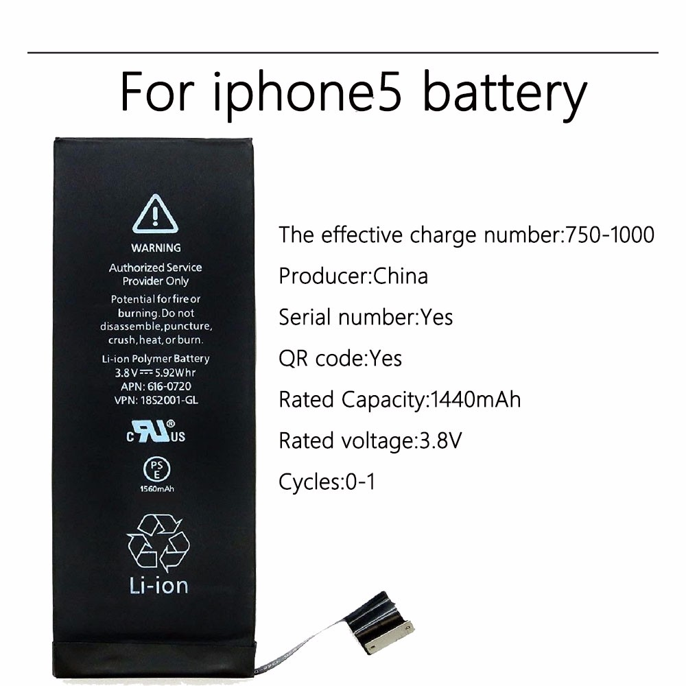 For iphone 5 battery -4