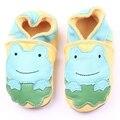 Alta Qualidade de Couro Genuíno Mocassins De Couro Do Bebê 6 Designs Infantil Do Bebê Da Menina do Menino Sapatos 0-18 Meses