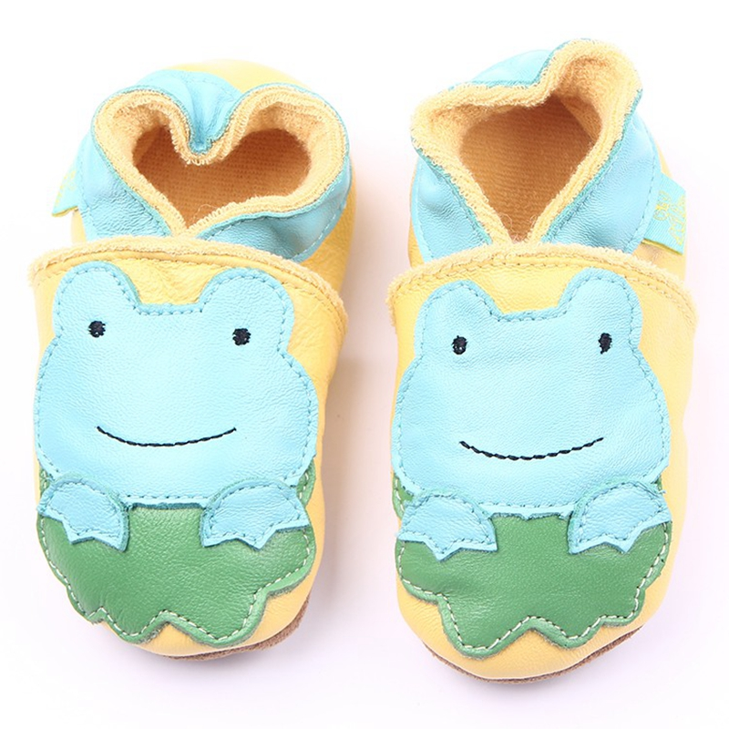 High Quality Genuine Leather Baby Moccasins 6 Deaisn Infant Leather Baby Shoes 0-18M