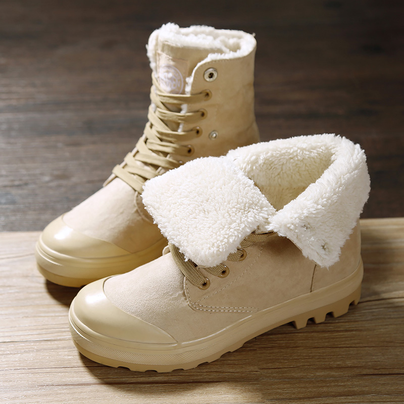 2016 Fashion Men Women Winter Snow Boots keep Warm Boots Plush Ankle boot Snow Work Shoes Men's Women's Outdoor Snow Boots 36-47 arrival fashion men winter shoes keep warm plush ankle boot snow work shoes outdoor men casual boots man zapatillas size 39 44